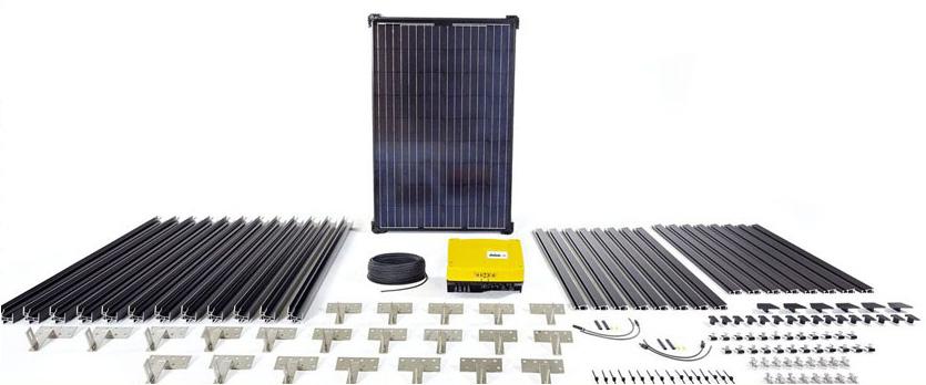 Solar Energy Monitoring System : Untitled ribbeansolarpanels